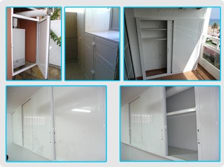 Armarios aluminio para terrazas armarios aluminio for Cristaleria benissa